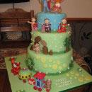 In the Night Garden Birthday Cakes