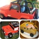 Jeep Birthday Cakes