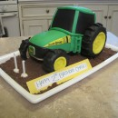 Farming Tractors and Barn Cake Ideas