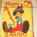 Pinocchio Birthday Cakes