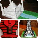 World Landmark Birthday Cakes