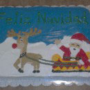 Santa Claus Christmas Cake Ideas