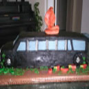 Limousine Birthday Cakes