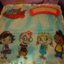 Little Einsteins and Rocket Birthday Cakes