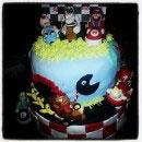 Mario Brothers Birthday Cakes