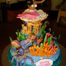 Ariel and Other Mermaids Birthday Cakes
