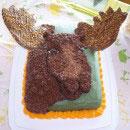 Moose Birthday Cakes