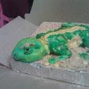 Lizard Birthday Cakes