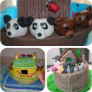Noahs Ark Birthday Cakes