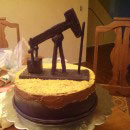 Oil Pump Birthday Cakes