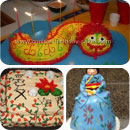 Oriental Theme Birthday Cakes