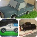 Pick-up Truck Birthday Cakes