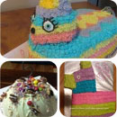 Pinata Breakable Birthday Cakes