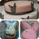 Playboy Bunny Logo Birthday Cakes