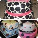 Polka Dots Birthday Cakes