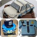 Police Birthday Cakes