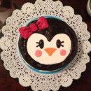 Penguin Birthday Cakes