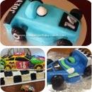 Race Car Birthday Cakes