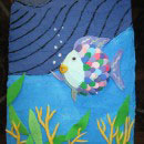 Rainbow Fish and the Big Blue Whale Birthday Cakes