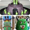 SciFi/Futuristic Birthday Cakes