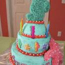 Seahorses Birthday Cakes