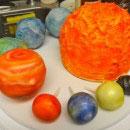 Solar System Birthday Cakes