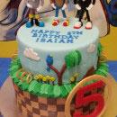 Sonic the Hedgehog Birthday Cakes