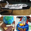 Space Birthday Cakes
