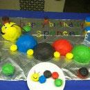 Baby Einstein Caterpillar Birthday Cakes