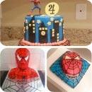 Spiderman Birthday Cakes