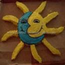 Sun/Sunshine Birthday Cake Decorating Idea