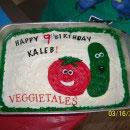 Veggie Tales Birthday Cakes