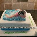 Swimming Birthday Cakes
