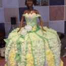 Princess and the Frog Birthday Cakes