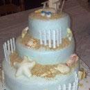 Seashell Birthday Cakes