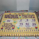 Lottery Ticket Birthday Cakes