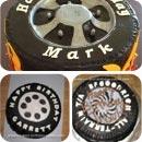 Tire Birthday Cakes