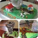 Tornado Birthday Cakes