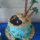 Beach Scene Birthday Cakes