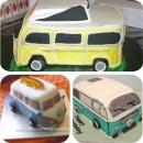 Van Birthday Cakes