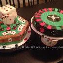 Roulette Birthday Cakes