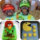 Video Game Character Cake Designs