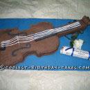 Violin/Cello Party Cakes