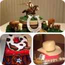 Wild West Birthday Cakes