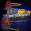 X-Wing Birthday Cakes
