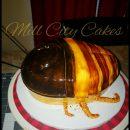 April fools Madagascar Hissing roach cake