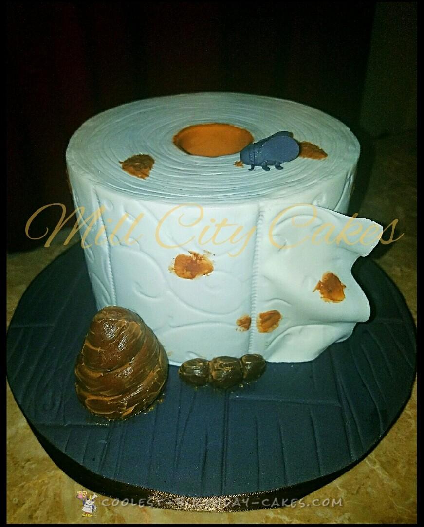 Birthday cake for a customer