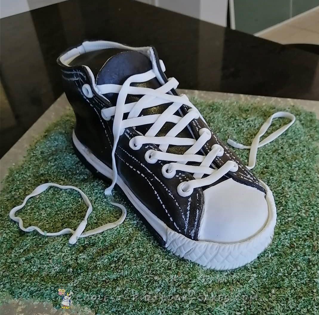 Converse Sneaker Cake