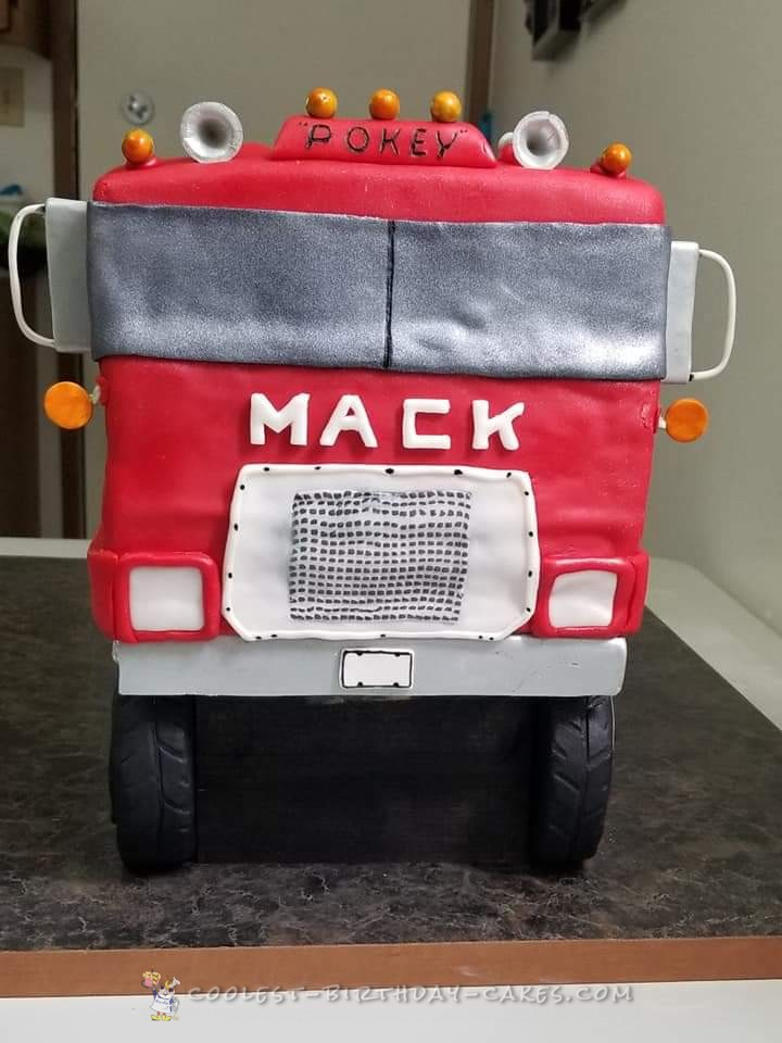 Coolest Mack truck for friends Mom