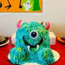 Coolest Monsters Inc Cake